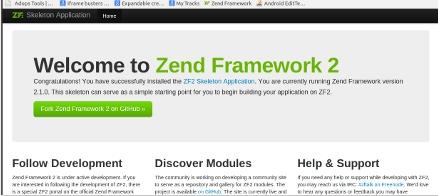 آموزش نصب zend framework 2