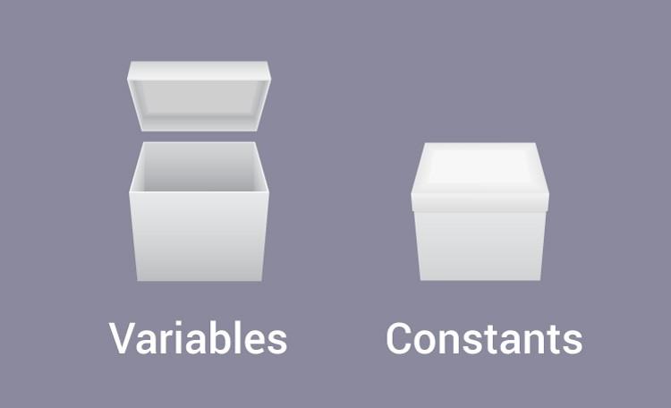 C variables constants